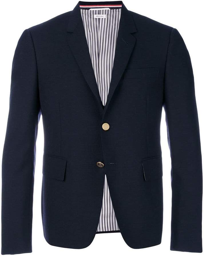 Thom Browne 2-ply Fresco Sport Coat