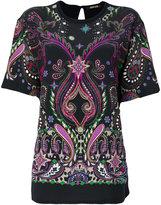 Roberto Cavalli appliqué blouse