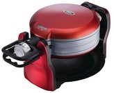 Oster DuraCeramic Double Flip Waffle Maker - Red CKSTWF20R