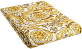 Versace Barocco 14 Fitted Sheet - 200x205cm - White/Gold