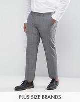 Harry Brown PLUS Check Suit Pants
