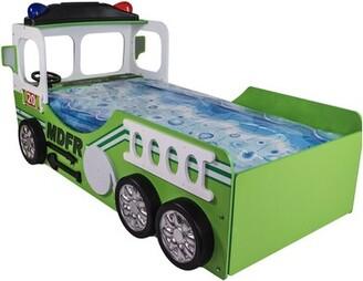 Henegar Toddler Fire Truck Bed Zoomie Kids