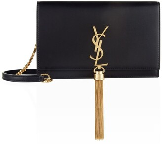 Saint Laurent SmallLeather Kate Tassel Shoulder Bag