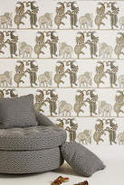 Anthropologie Safari Dance Wallpaper