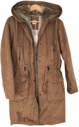 BOSS ORANGE Orange Cotton Coat for Women