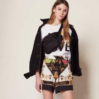 Sandro Printed Shorts