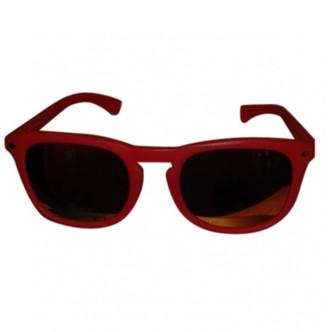Calvin Klein Orange Plastic Sunglasses