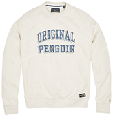 Original Penguin Printed Sweater, Mirage Grey