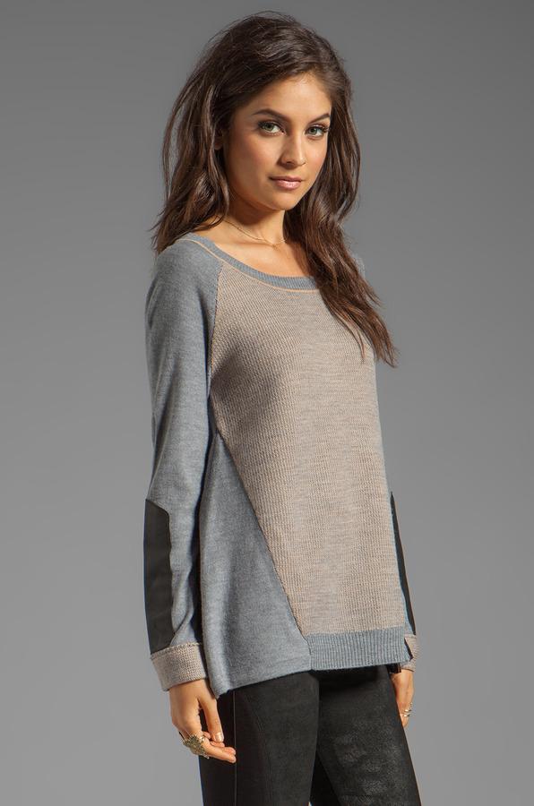 Nanette Lepore Medina Knit Taza Sweater