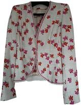 Escada Ecru Tweed Jacket for Women