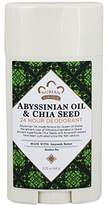 Nubian Heritage Abyssinian Oil & Chia Seed 24 Hour Deodorant Stick, 2.25 Ounce