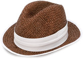Eleventy trilby hat - women - Raffia - L