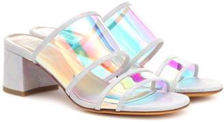 Maryam Nassir Zadeh Martina leather-trimmed sandals
