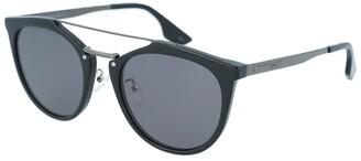 Alexander McQueen Unisex Mq0037s 54Mm Sunglasses