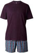 M&s Collection Pure Cotton T-shirt & Shorts Set