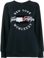Tommy Hilfiger embroidered logo sweater