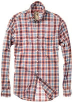 Relwen Broadcloth Poplin Multi Plaid Shirt