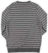 Michael Kors Merino Wool Striped Crewneck Sweater