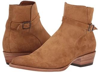 Frye Grady Jodphur (Tan Oiled Suede) Men's Shoes