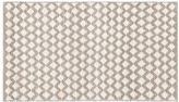 Pottery Barn Diamond Wool Rug - Ivory