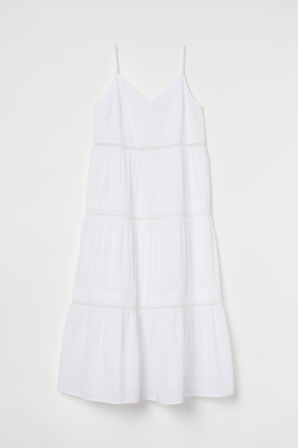 H&M H&M+ V-neck cotton dress