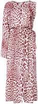 Robert Rodriguez leopard print dress