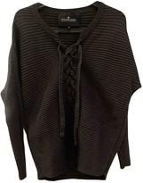 Designers Remix Grey Cotton Knitwear for Women