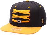 Zephyr Michigan Wolverines Basketball Lacer Snapback Cap