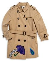 Burberry Baby's & Toddler's Button Front Long Coat