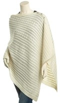 Sofia Cashmere sofiacashmere Sofiacashmere Cashmere Cable Poncho.