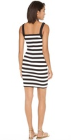 Juicy Couture Ottoman Striped Print Dress