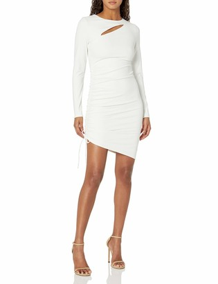 GUESS Women's Long Sleeve Meryl Mini Dress