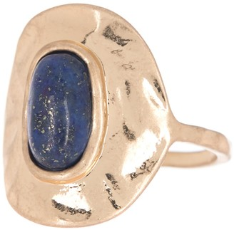 Melrose and Market Semi Organic Stone Oval Ring