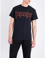 Justin Bieber Purpose Tour cotton-jersey T-shirt
