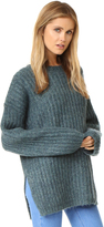 See by Chloe Ribbed Pullover Sweater