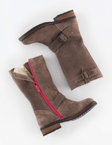 Boden Suede Buckle Boots