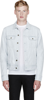 Rag and Bone Rag & Bone Bleached Wash Destroyed Denim Jacket