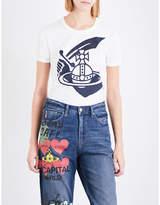Anglomania Cutlass cotton-jersey T-shirt