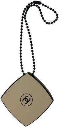 Chanel Black Metal Bag charms