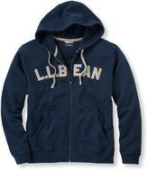 L.L. Bean Athletic Sweats, Logo Full-Zip Hooded