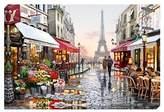 John Lewis Richard Macneil - Paris Flower Shop Print on Canvas, 70 x 100cm