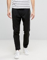 Casual Friday Slim Fit Pants With Drawstring Waist