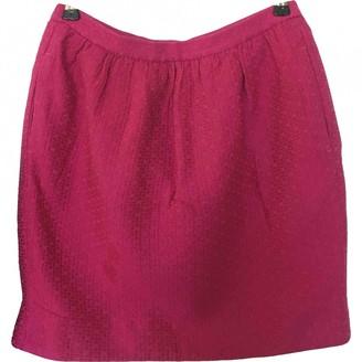 Sandro Pink Wool Skirt for Women