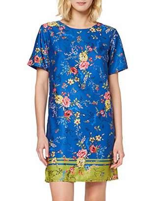 Yumi Summer Floral Print Tunic Dress
