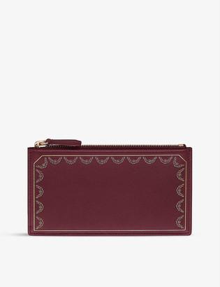 Cartier Guirlande De zipped leather card holder
