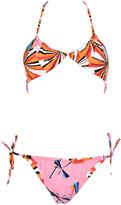 Emilio Pucci Geometric Print Bikini