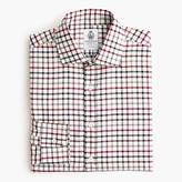 J.Crew CordingsTM for shirt in red and brown check