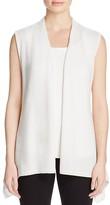 Magaschoni Open Cashmere Vest