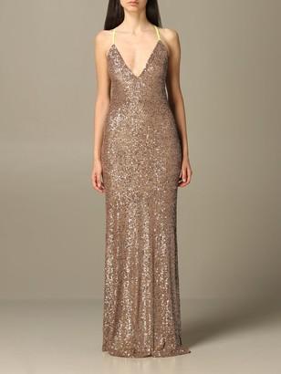 be blumarine Dress Long Sequined Dress