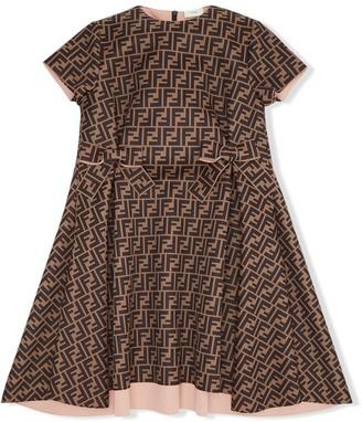 Fendi Kids FF logo dress